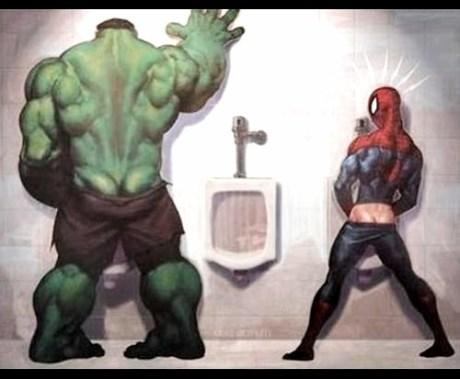 superheroe envy