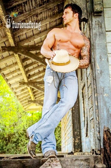 Hot Cowboy - Photography by Gary Taylor (23)
