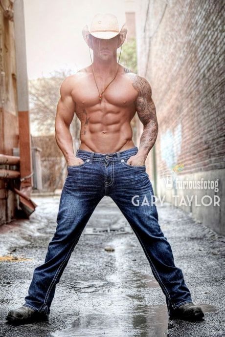 Hot Cowboy - Photography by Gary Taylor