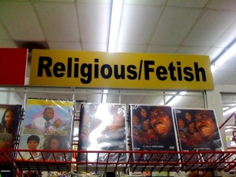 religious fetish