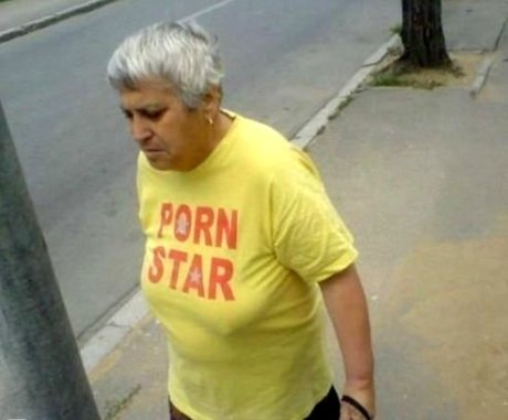 Porn star grandma