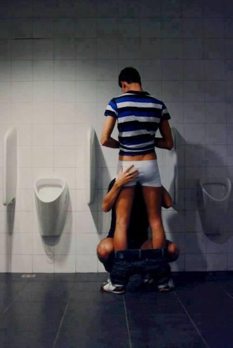 restroom break